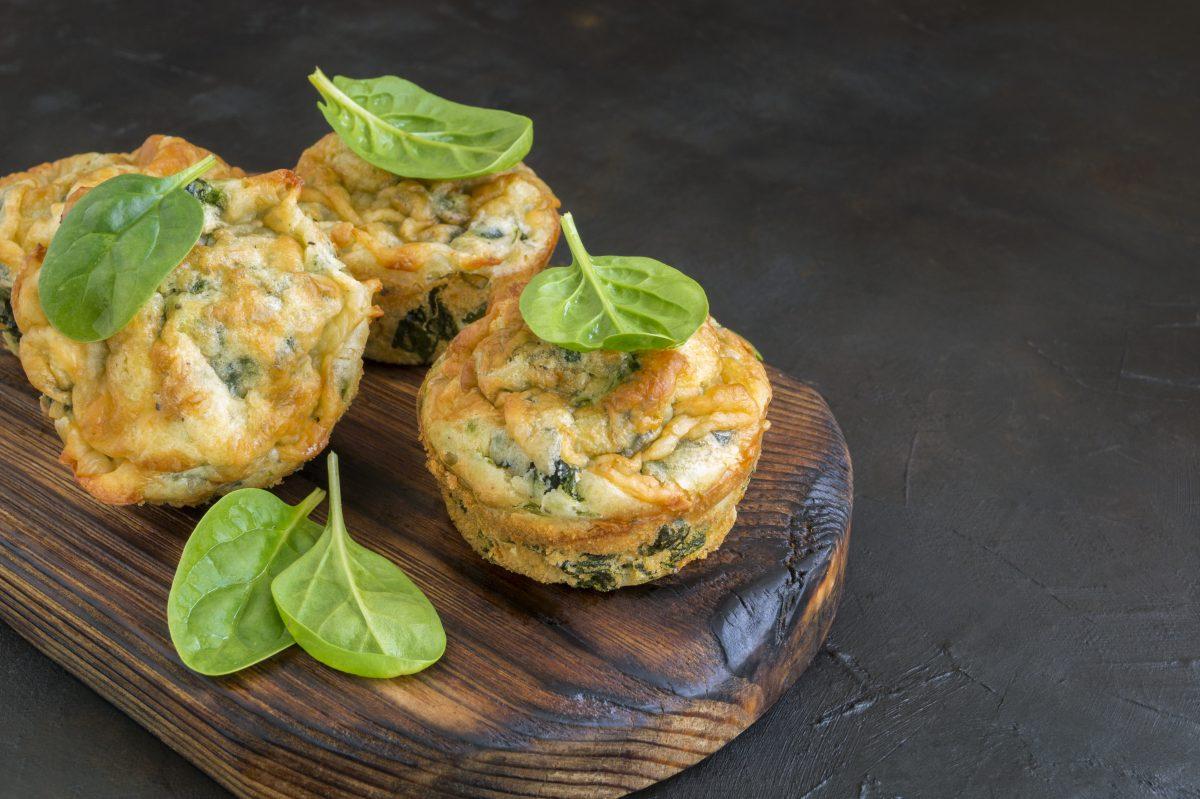 Tortini di spinaci e quinoa: la ricetta con sole 120 calorie