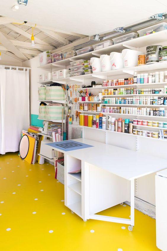trasformare il garage in craft 1