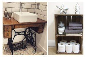 arredamento bagno con oggetti riciclati arredo bagno riciclo