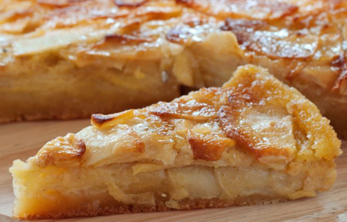 la torta di mele con torta di mele