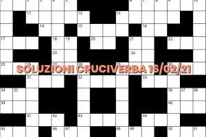 soluzioni cruciveba02 16 2021