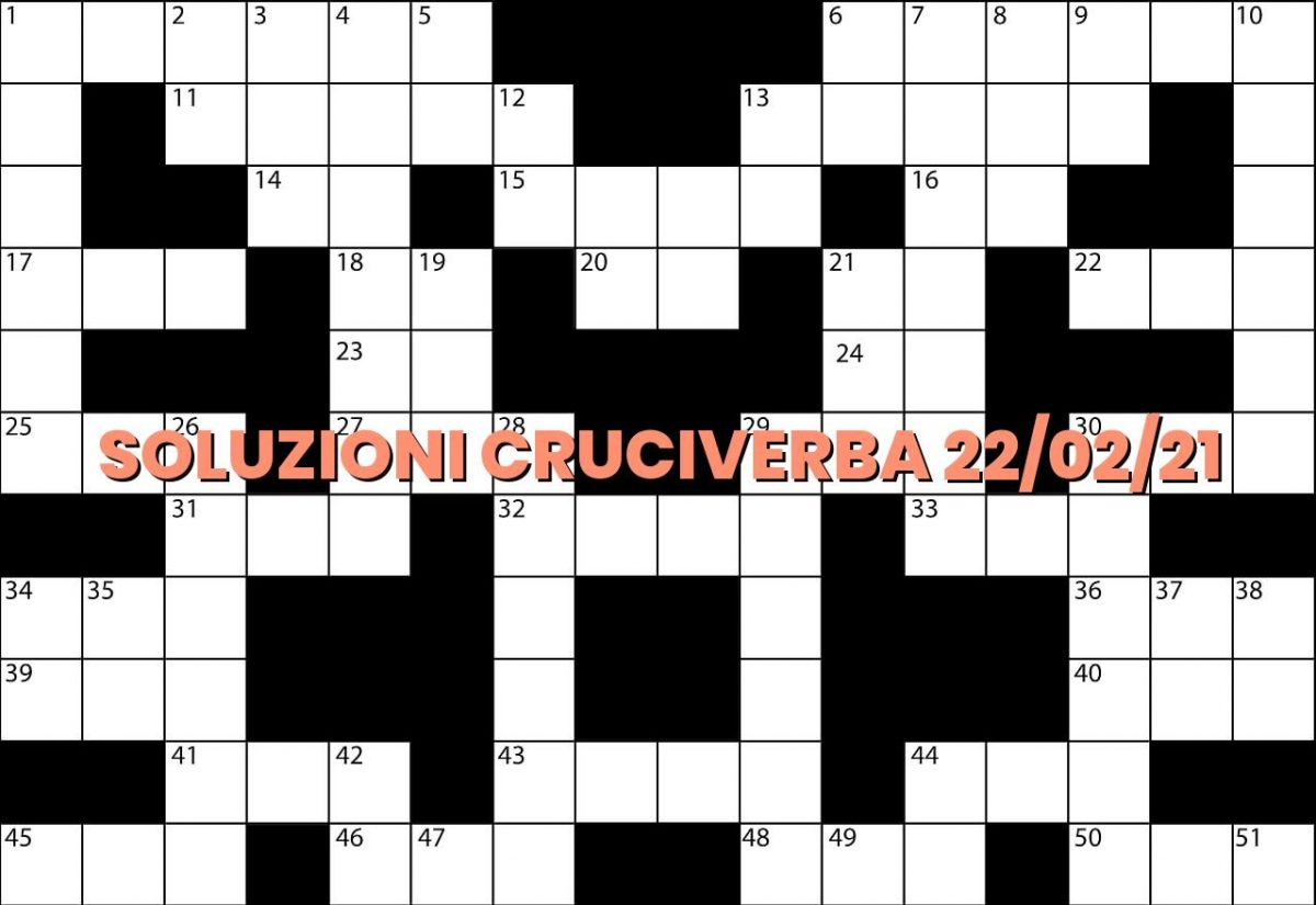 soluzioni cruciveba02 22 2021