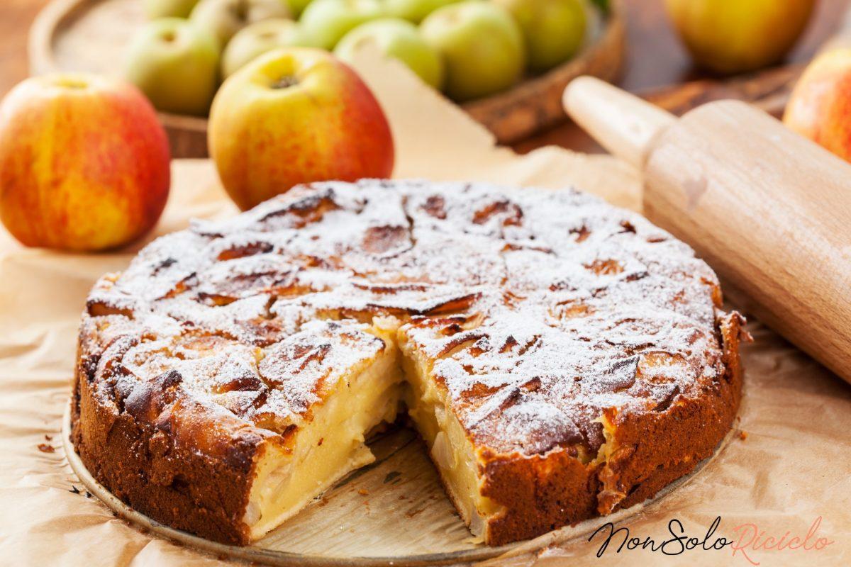 Torta di mele, la ricetta di Tessa Gelisio