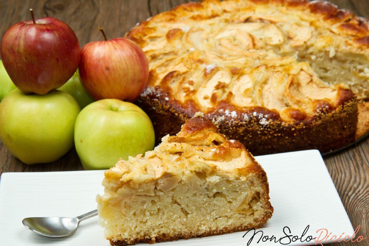torta senza bilancia tutte mele 4