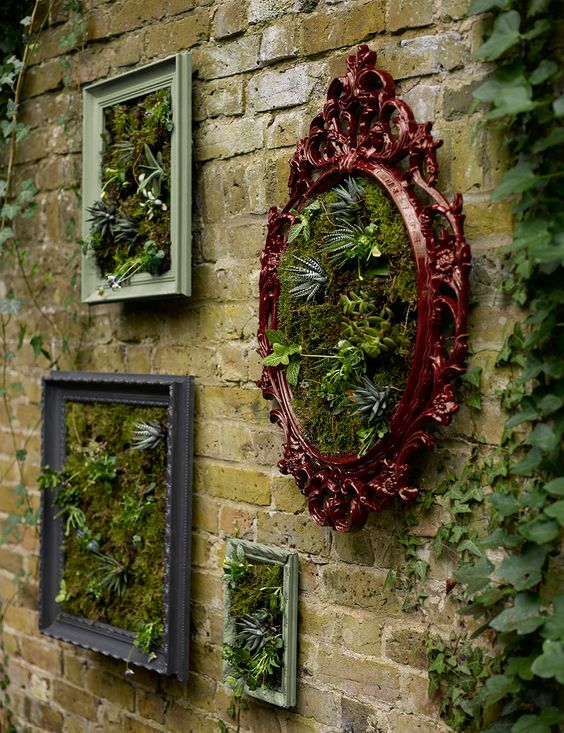 decorare giardino con riciclo creativo 1