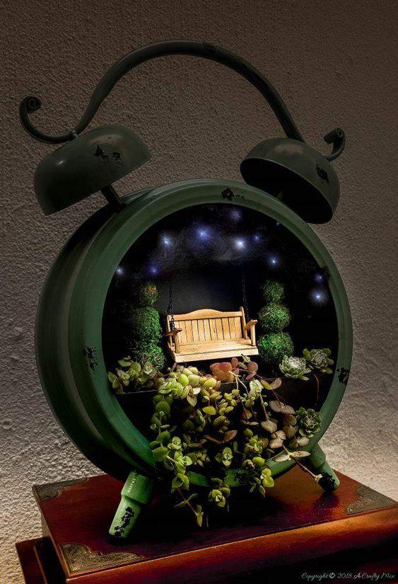 decorare giardino con riciclo creativo 4