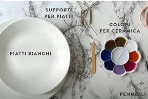 dipingere piatti in ceramica con dipingere piatti in ceramica