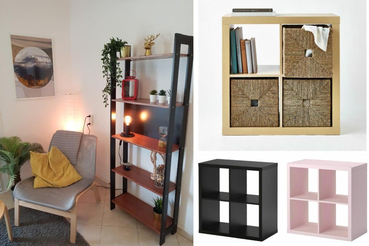 Libreria IKEA a meno di 50 euro: 9 idee arredo fantastiche!