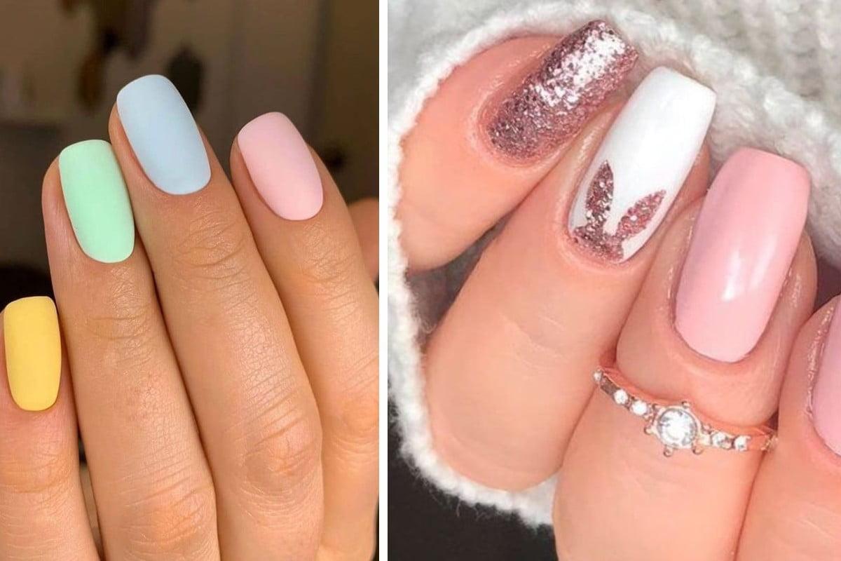 nail art primaverile e perfetta nail art pasqua 2021