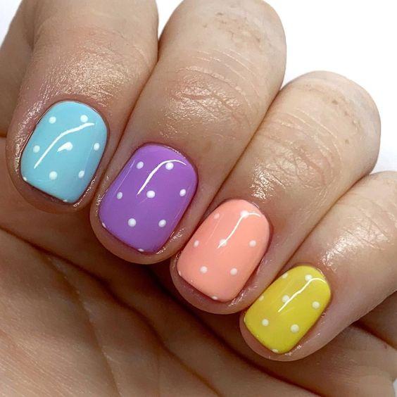 nail art primaverili e perfette 5