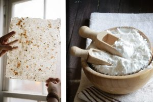 realizzare carta vintage con fiorellini carta fatta a mano