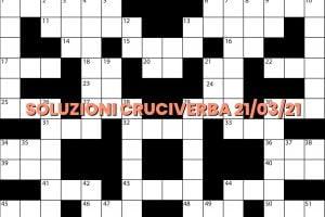 soluzioni cruciveba03 21 2021