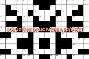 soluzioni cruciveba03 22 2021