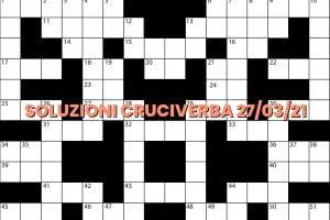 soluzioni cruciveba03 27 2021