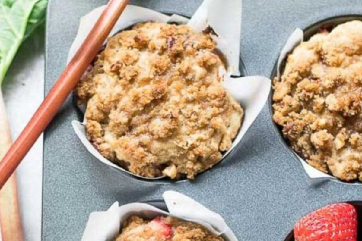 crumble di fragole light per muffin crumle fragole