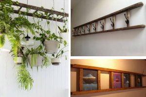 decorare casa con scala di riciclo scala di legno
