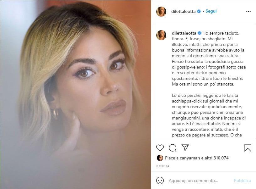 diletta leotta sinfuria su instagram Diletta Leotta post