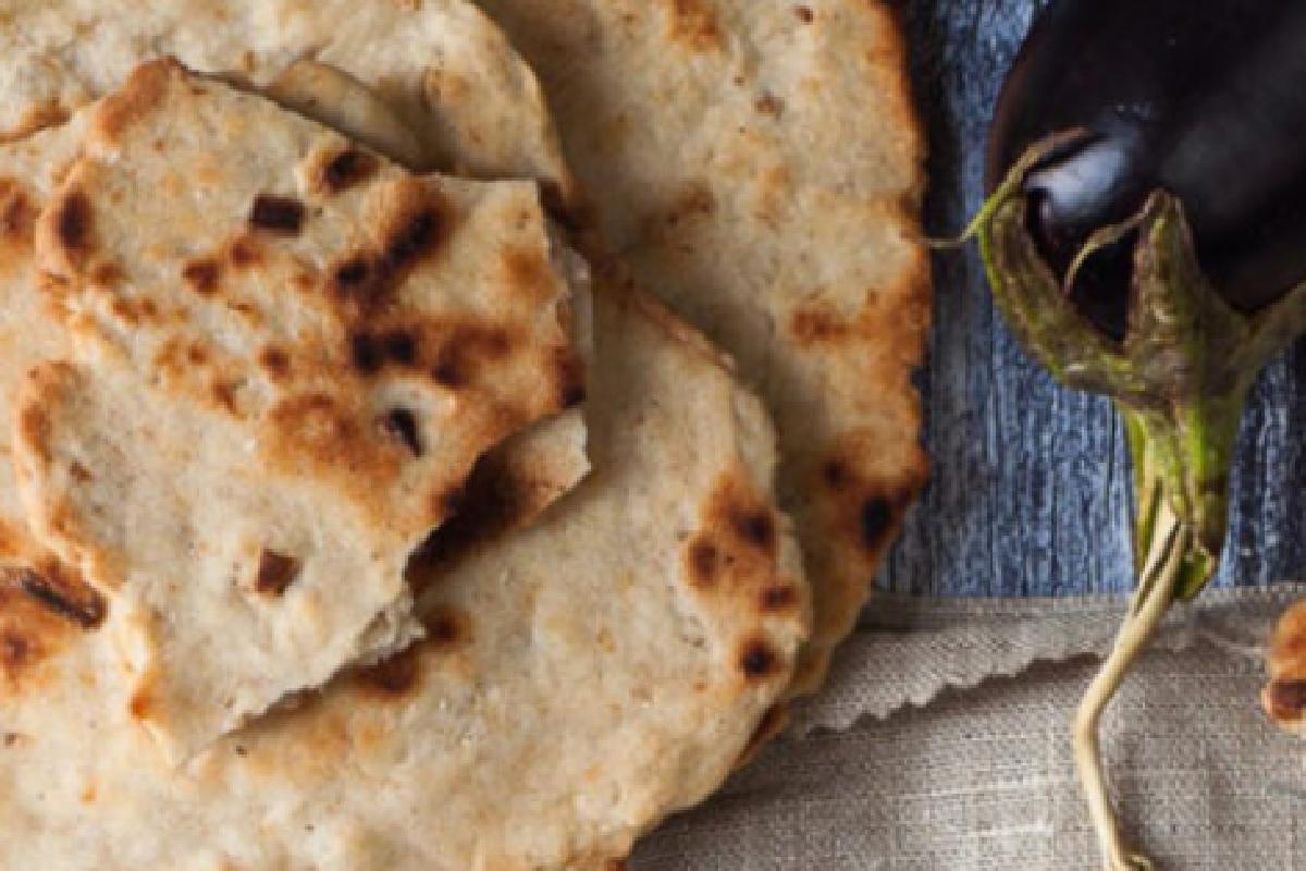 pane azzimo integrale a basso pane azzimo
