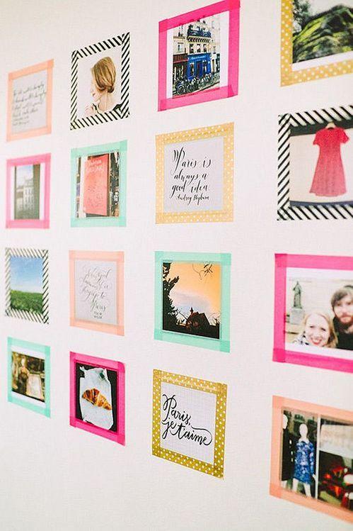 pareti decorate con polaroid ecco 10