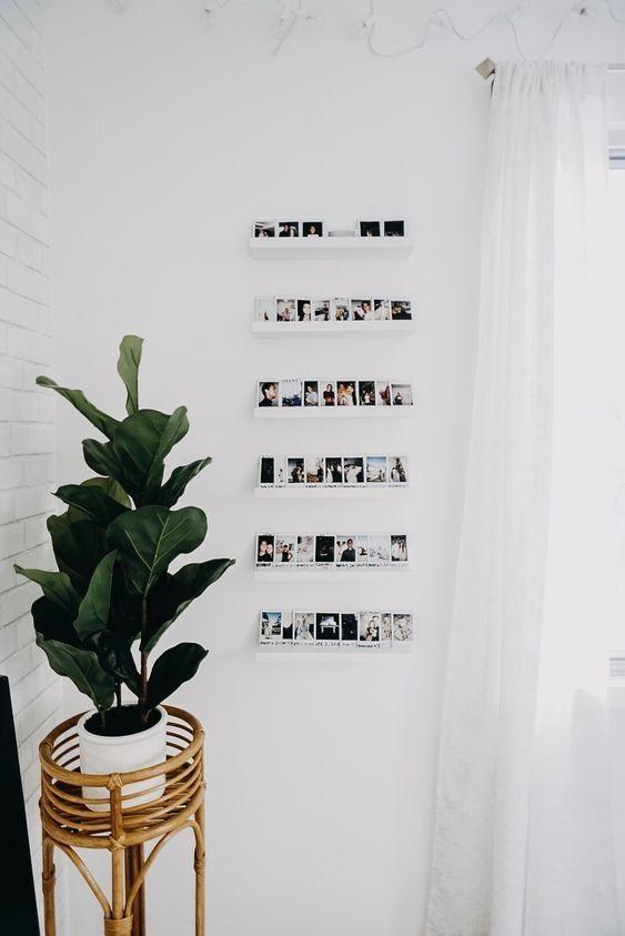 pareti decorate con polaroid ecco 2