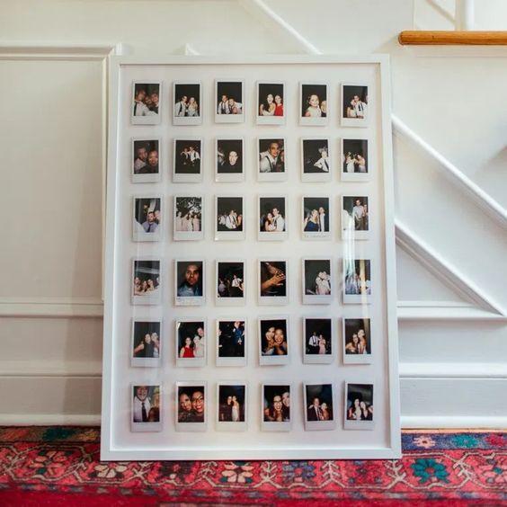 pareti decorate con polaroid ecco 3