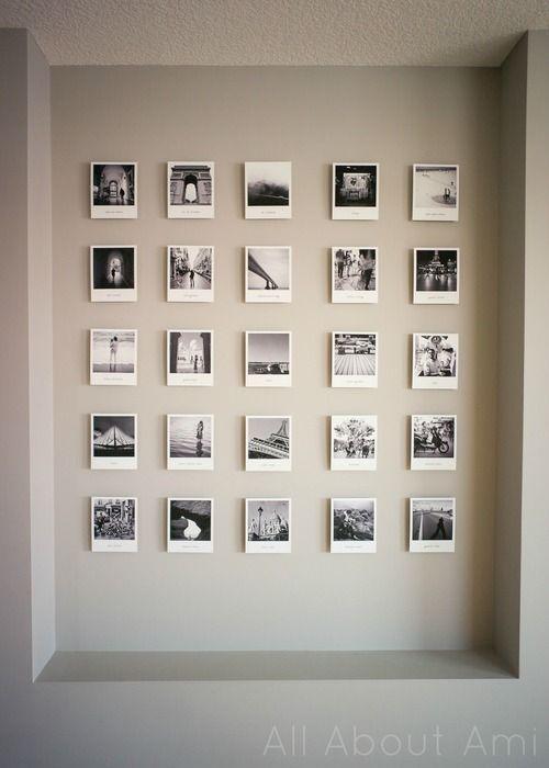pareti decorate con polaroid ecco 4