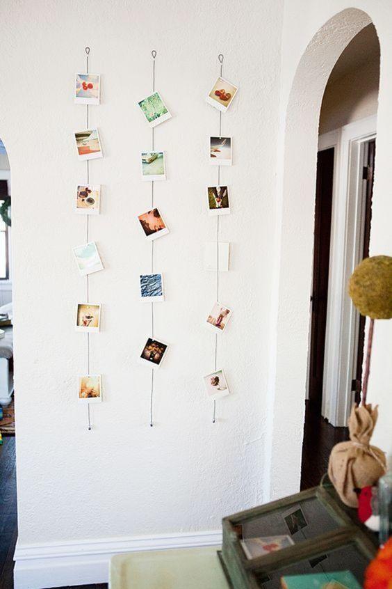 pareti decorate con polaroid ecco 6