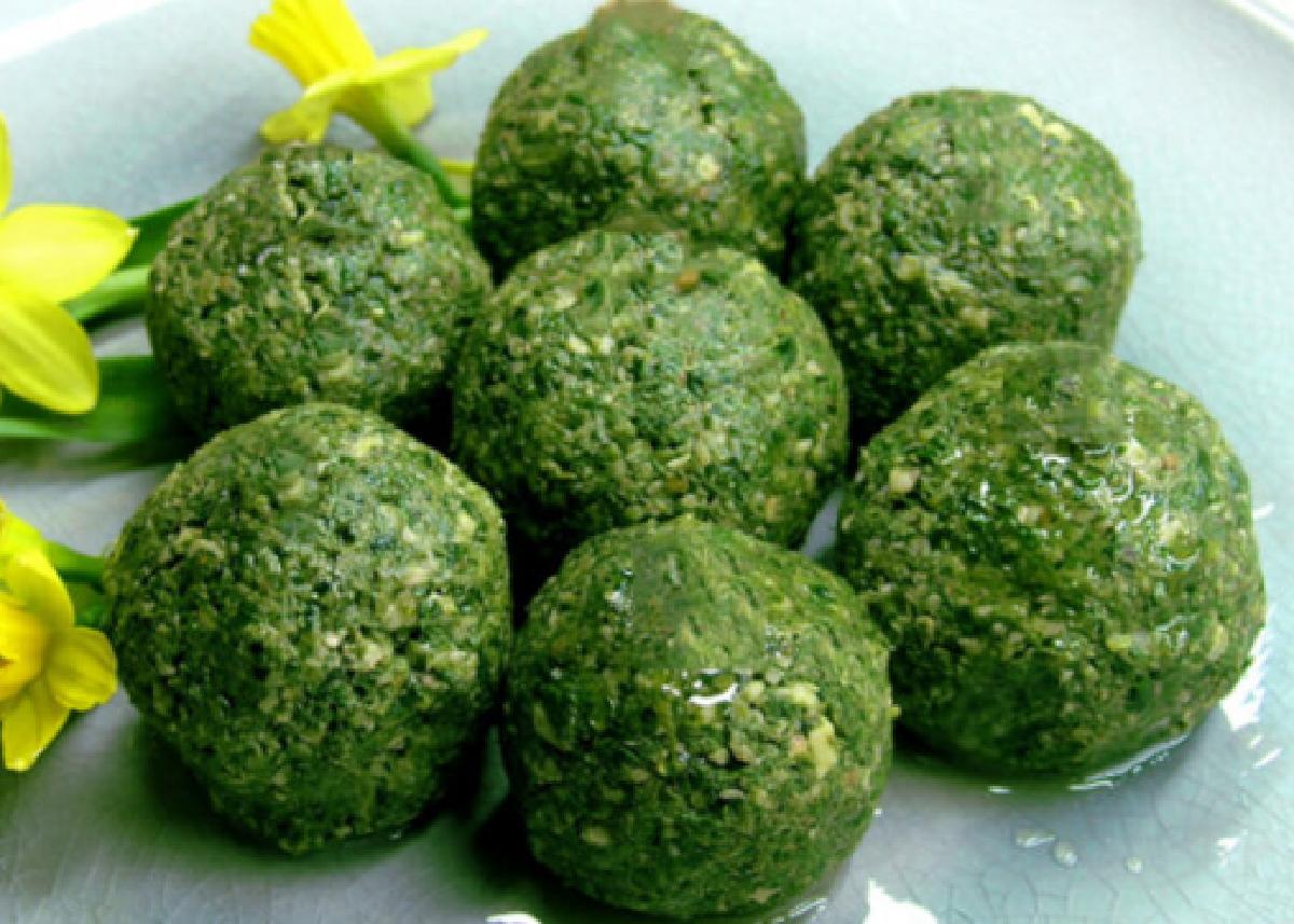Polpette light agli spinaci: una delizia con sole 60 calorie!