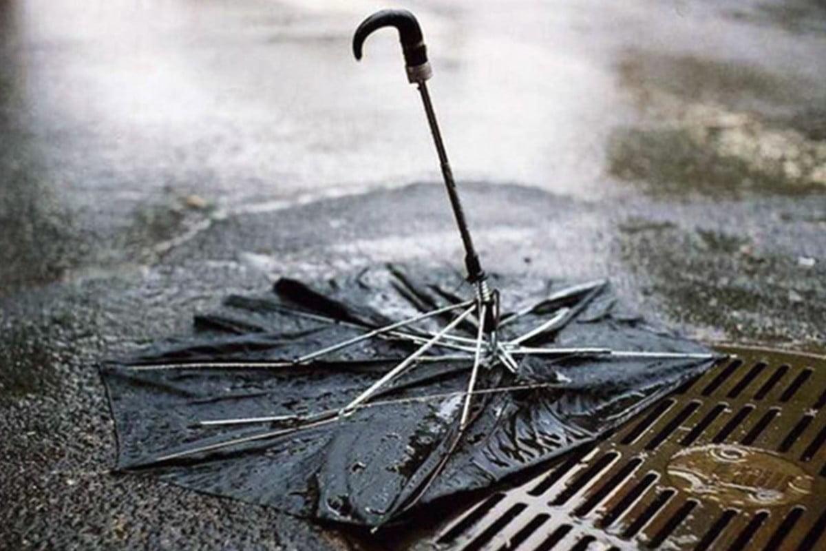 riciclare un ombrello rotto come riciclo ombrello