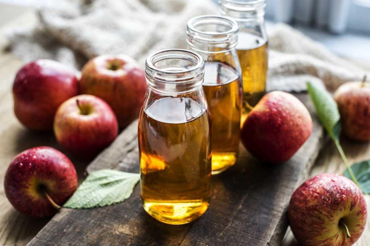 sapevi che laceto di mele fresh apple juice close up shot 53876 65292