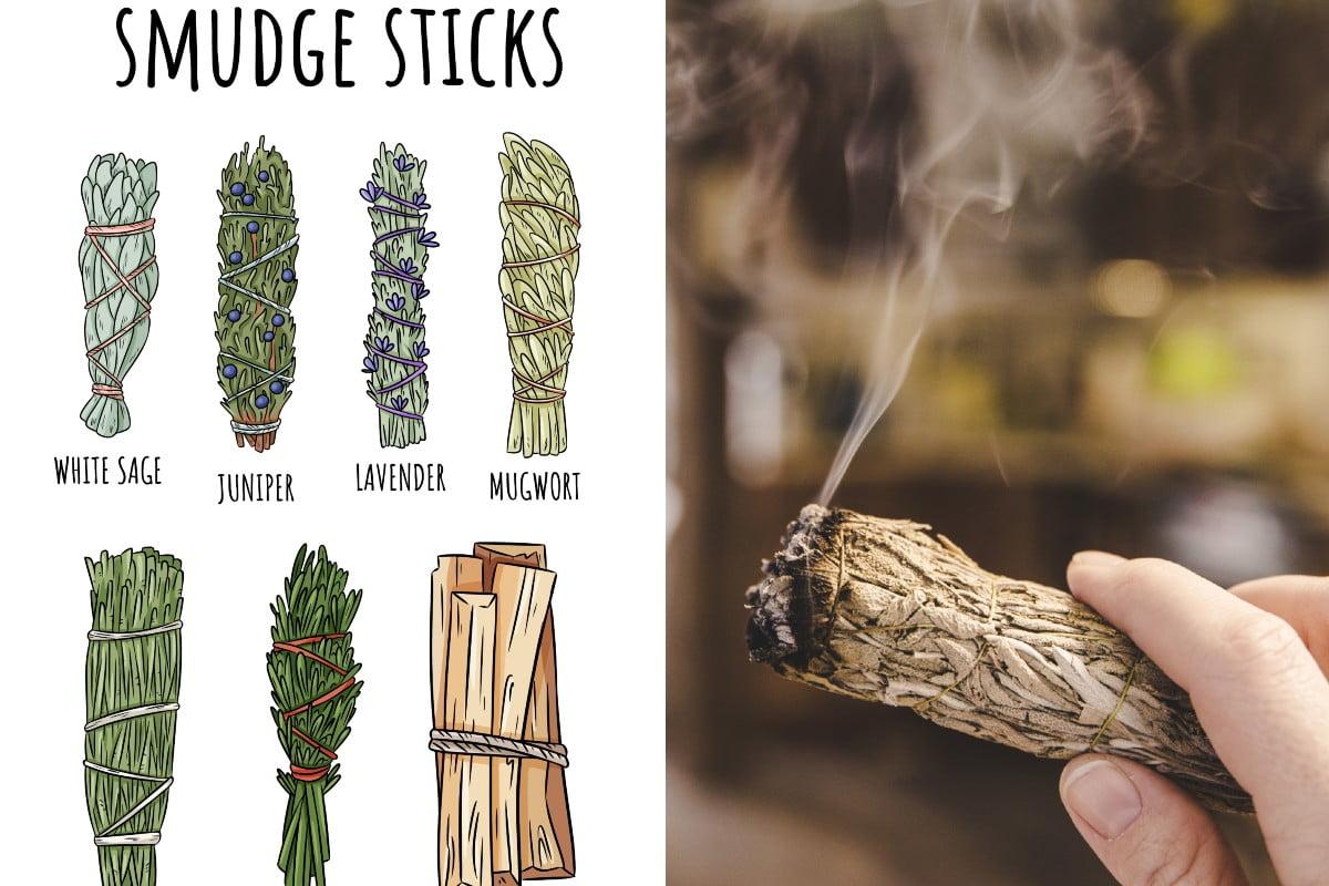 smudge stick fai da te smudge sticks