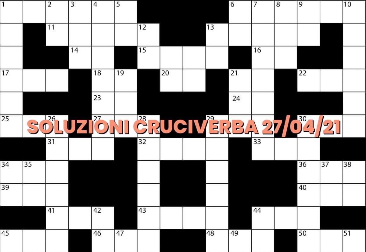 soluzioni cruciveba04 27 2021