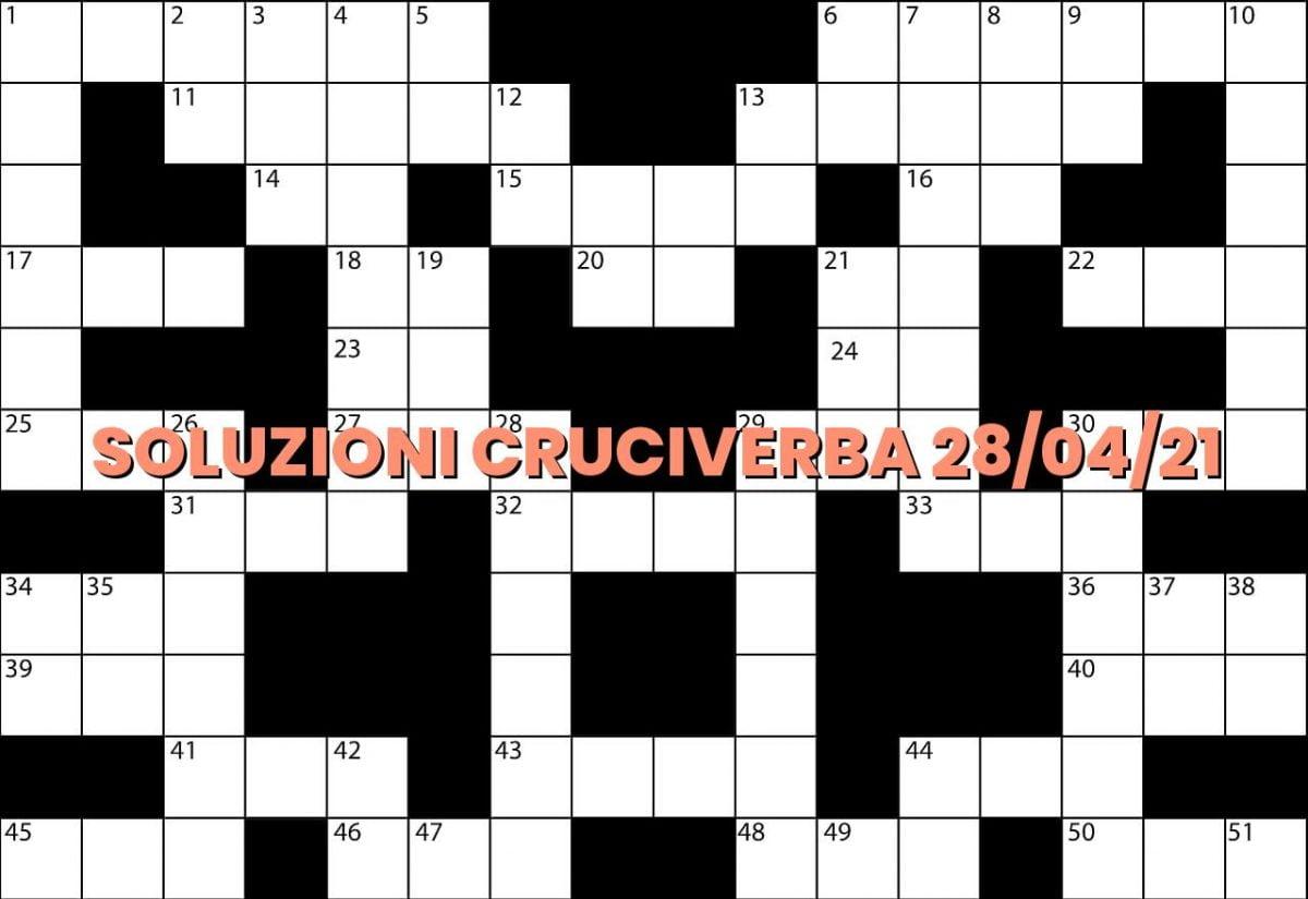 soluzioni cruciveba04 28 2021
