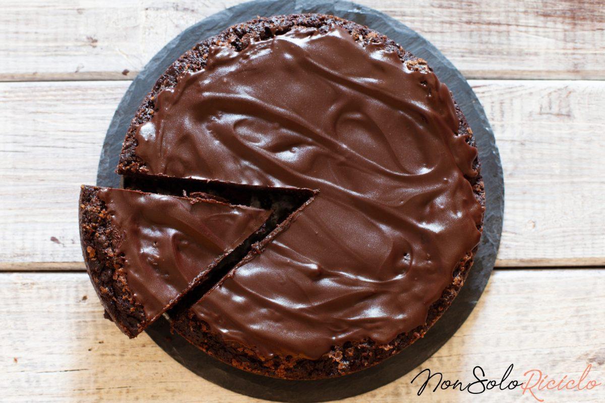 torta furba al cioccolato con 3