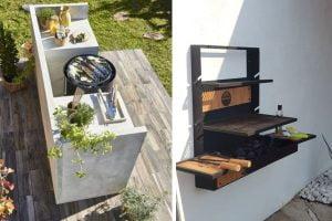 angolo barbecue nel giardino ecco angolo barbecue