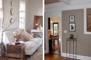 arredamento casa con color tortora pareti color tortora
