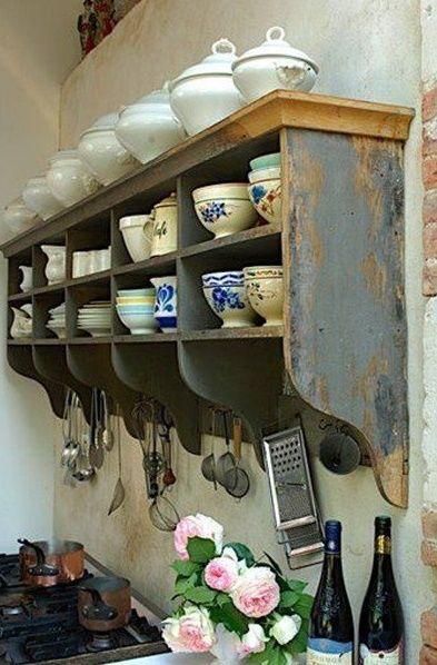 arredamento cucina in stile retro 2