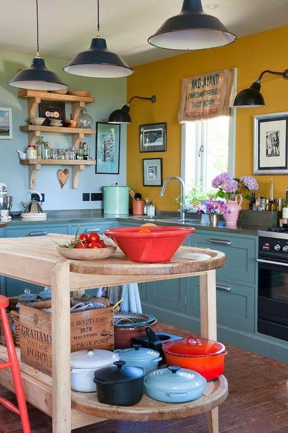 arredamento cucina in stile retro 4
