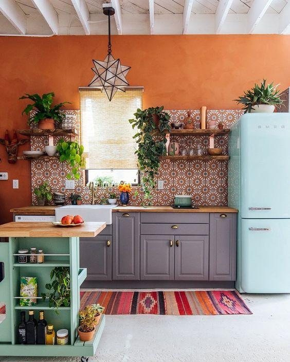 arredamento cucina in stile retro 6