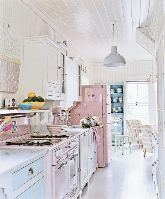 arredamento cucina in stile retro 7