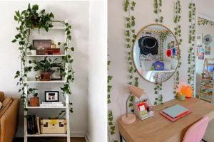 arredare casa con edera finta decorare con edera finta