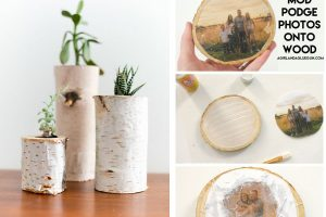 decorazioni rustiche con tronchetti di decorazioni con tronchi
