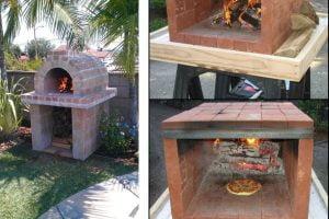 forno a legna per il forno a legna per giardino