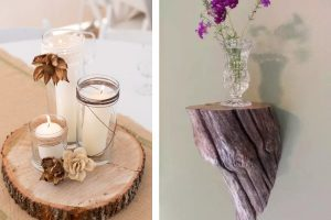 idee per decorazioni in legno decorazioni in legno