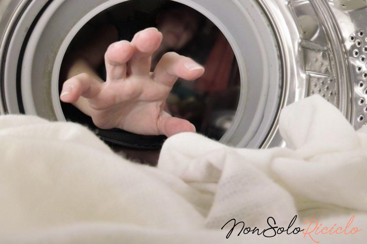 lavare il piumone in casa 4