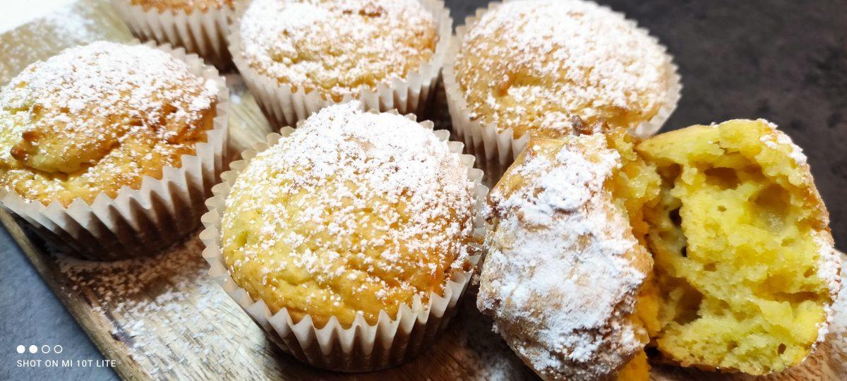 Muffin alla ricotta: un dolce light più buono del classico, solo 170 Kcal!