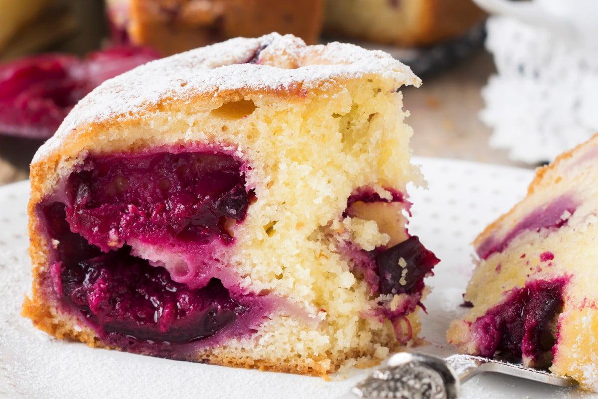 torta deliziosa irrealistica in 5 torta al kefir