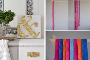 15 idee economiche per decorare decorazioni fai da te 3