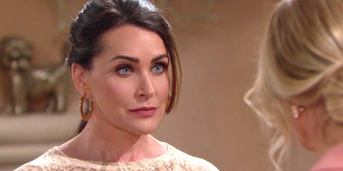 Beautiful, anticipazioni 20 giugno: il matrimonio tra Brooke e Ridge ha le ore contate a causa di Quinn