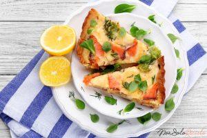 crostata salmone e formaggio una 2